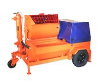 Агрегат штукатурно-смесительный с виброситом передвижной АШС-2500