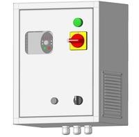 Шкаф управления электродвигателями ШУЭ-0,75 (IP31)